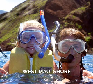 West Maui Shore Snorkeling and Kayak Tour