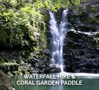 Kayaking tour and hike maui