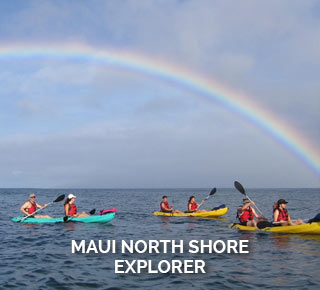 Maui north shore kayaking tour explorer