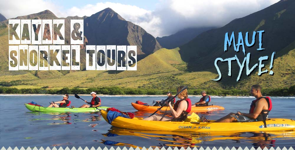 Kayaking and Snorkeling Tours Maui Style
