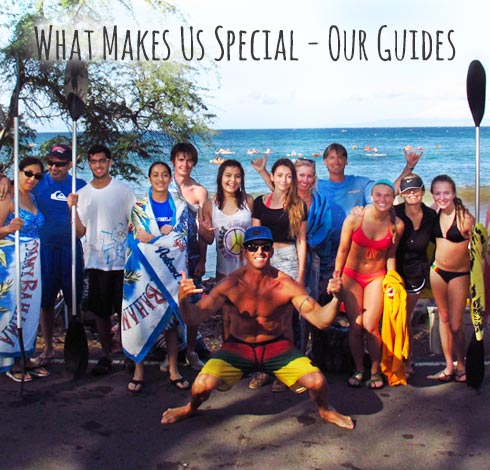 What makes us special - our guides