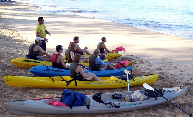 Kayaking Group Tours